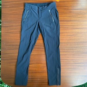 Athleta Zip Bottom Pants, Size 6